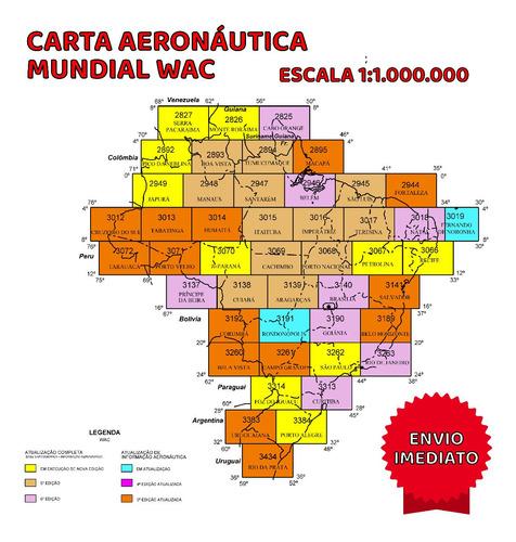 Carta Aeronáutica Wac Atualizada Todas As Cartas Disponivel