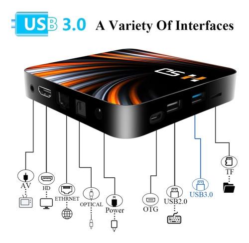4k Tv Box Android 10 Rom 64g Ram 4g  H265