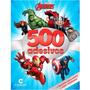 Livro 500 Adesivos Vingadores Culturama