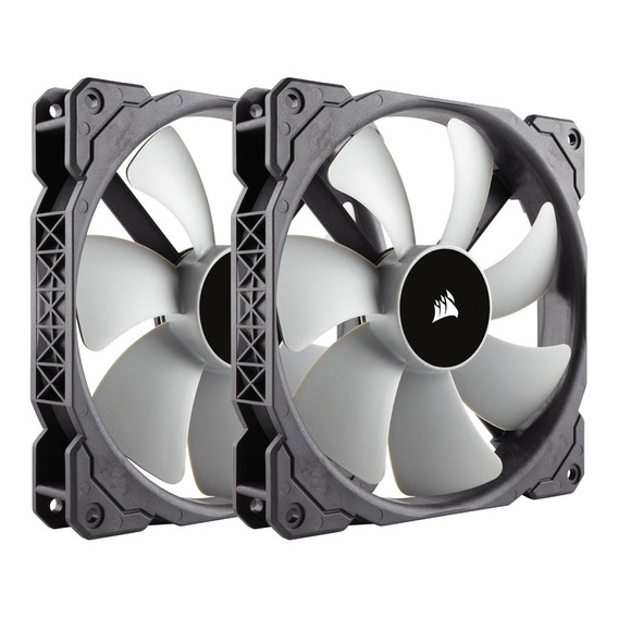 2 Fan Cooler Corsair Ml140, 140mm Premium Magnetic Levitatio