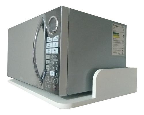 Suporte P/ Microondas,impressora,forninho/ Mdf Branco