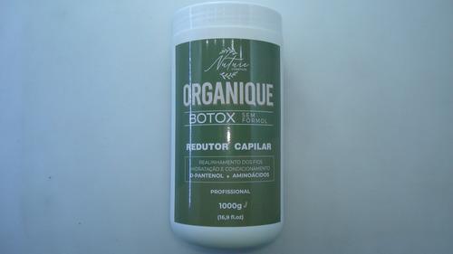 Botox Organique Redutor Capilar Sem Formol Nuture 1000gr