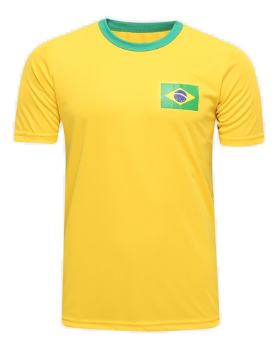 Camisa Brasil Selecao Brasileira Torcedor Copa America Mundo