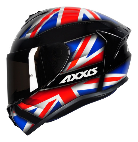 Capacete Axxis Masculino Inglaterra Preto Fosco Esportivo
