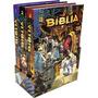 Bíblia Kingstone Box Com 3 Volumes Em Quadrinhos Hq