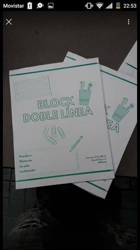 Block Doble Linea