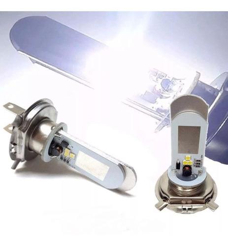 Lampada Farol Super Branca H4 Led Cb300 Xre Fazer Lander Cg