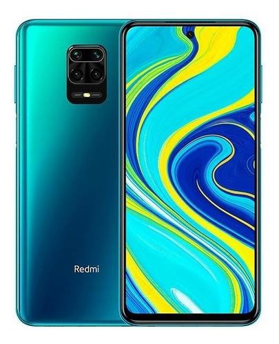 Redmi Note 9s 128g 6g Ram Aurora-blue  + Película De Vidro