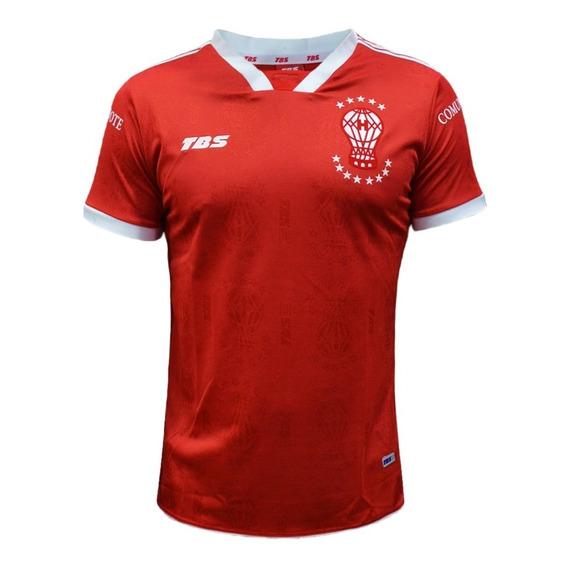 Camiseta Alternativa Huracan Tbs Niño Roja 2017