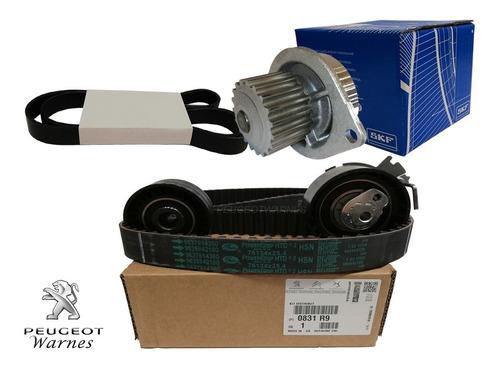 Kit Distribucion + Bomba Skf + Poly V Peugeot 208 1.6 N 16v