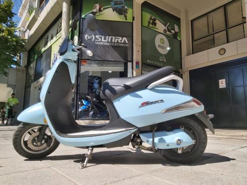 Moto Electrica Grace Sunra Scooter Bateria De Gel Ahora D