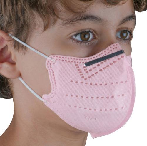 Kit 10 Máscara N95 Escolar Infantil Varias Cores Disponíveis