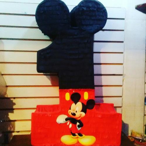 Piñata De Mickey Mouse Numeró