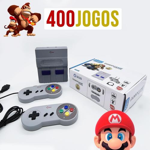 Mini Video Game Portátil Console Nintendo 8bit 400 Jogos