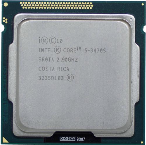 Processador Gamer Intel Core I5-3470s Bx80637i53470s De 4 Núcleos E 2.9ghz De Frequência Com Gráfica Integrada