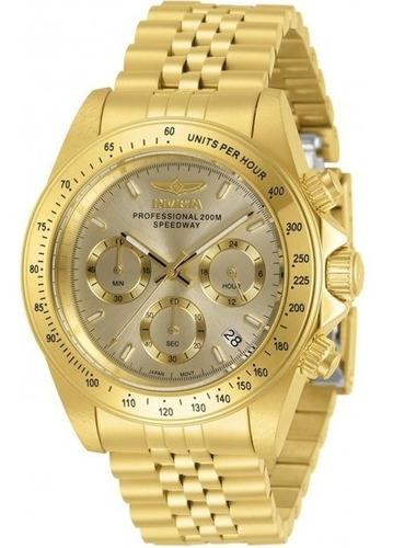 Relógio Masculino Com Mostrador De Ouro E Quartzo #original