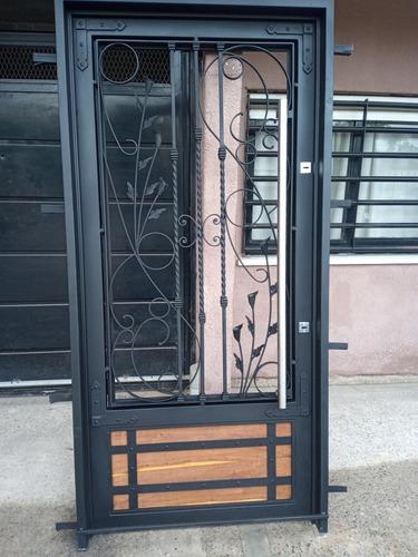 Puerta De Diseñó Antiguo Rústica Artística