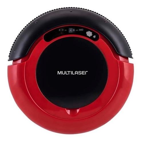 Robô Aspirador E Passa Pano Multilaser Ho041  Vermelho E Preto 127v/220v