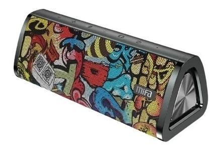 Caixa De Som Bluetooth 5.0 Mifa A10+ Black Grafite 20w Lpx7