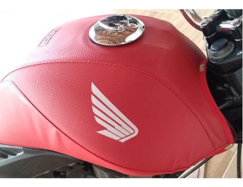Capa Tanque Protetora Moto Cg Titan Fan 125 150 2000 A 2008