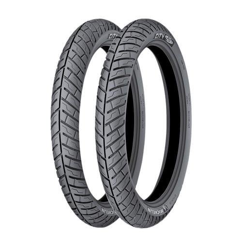 Combo Michelin 2.50 17 - 80 90 17 City Pro C/envio Gratis