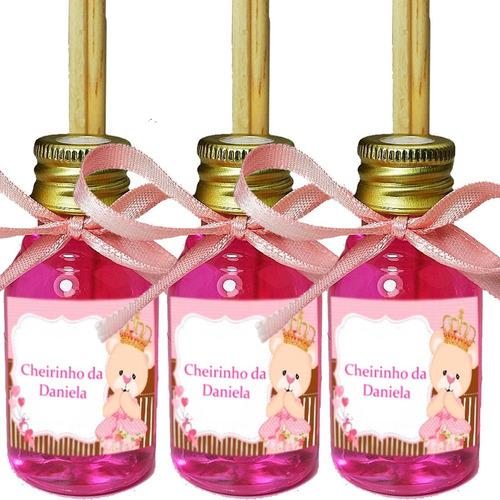 Kit Com 30 Mini Difusores 30ml - Lembrancinhas Bodas De Ouro