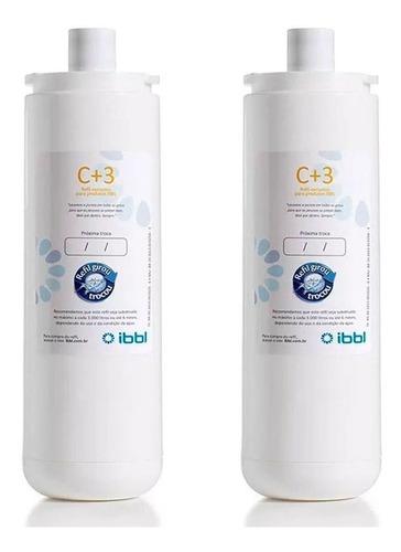 Kit C/ 2 Refil C+3 Filtro Purificador De Água Ibbl. Fr600