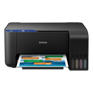 Impresora a color multifunción Epson EcoTank L3110 220V negra