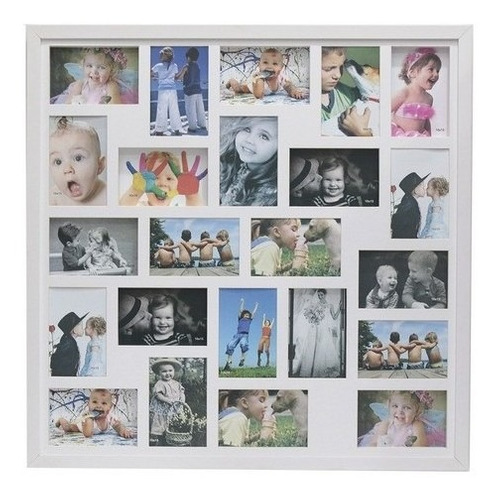 Quadro Painel Multifotos C/vd 23 Fotos 10x15 Ideal Disjuntor