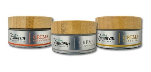 Kit 3 Cremas Faciales Zamaran (promoción)