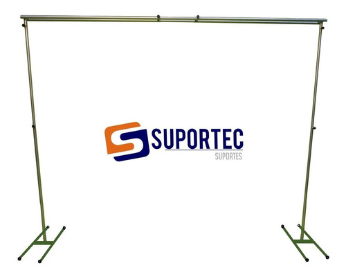 Suporte Para Painel De Festa ,banner E Cortina 1,8x3,0 Duplo