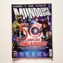 Revista Mundo Dos Super Heróis 50 Anos Dos Vingadores G183