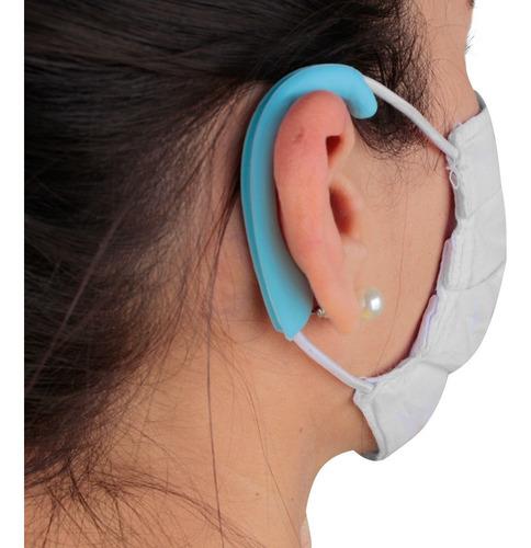 Protetor De Silicone Salva Orelha Mascara De Respiratória