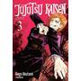 Mangá Jujutsu Kaisen Batalha De Feiticeiros Edição 3 Volum 3