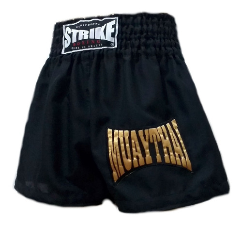 Shorts Muay Thai Bermuda Calção Modelo Tailandês Bordado