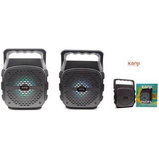 Parlante Inalambrico Bluetooth Kanji Pacha Radio Fm Usb/sd
