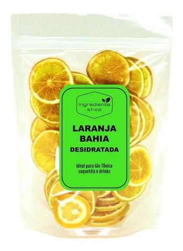 Laranja Bahia Premium Desidratada 40g Para Gin Tônica Aperol
