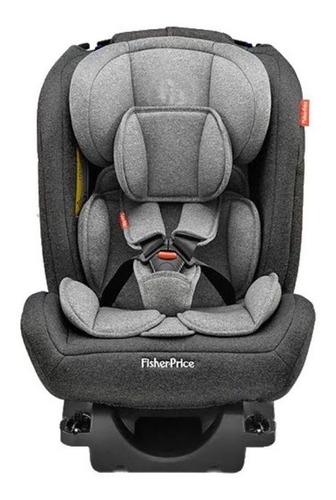Cadeira Infantil Para Carro Fisher-price All-stages Fix 2.0 Preto E Cinza