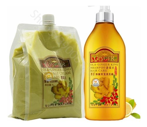 Tratamiento Y Shampoo A  Base De Jeng - kg a $40000