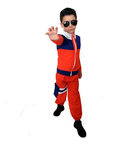 Fantasia Naruto Uzumaki Cosplay Infantil