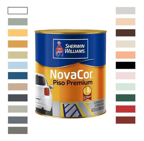 Tinta Acrílica Novacor Piso Mais Resistente Em Cores 900ml