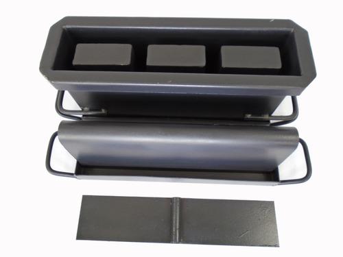 Kit Forma Blocos E Canaletas De 10 Com 3 Furos  Jalossimaq