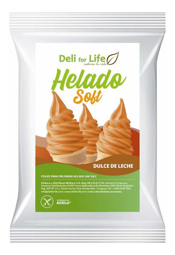 Helado Soft Dulce De Leche 100g