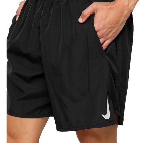 Bermuda Nike Short Original Azul Dri Fit Flex Corrida Treino