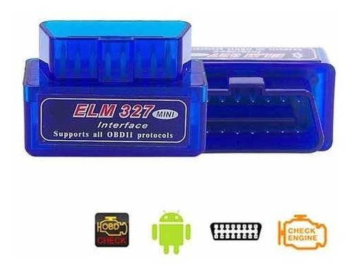Escáner Carros Interface Elm 327 Obd2