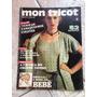 Revista Mon Tricot 43 Moda Bebê Crochê Túnicas Colete E341