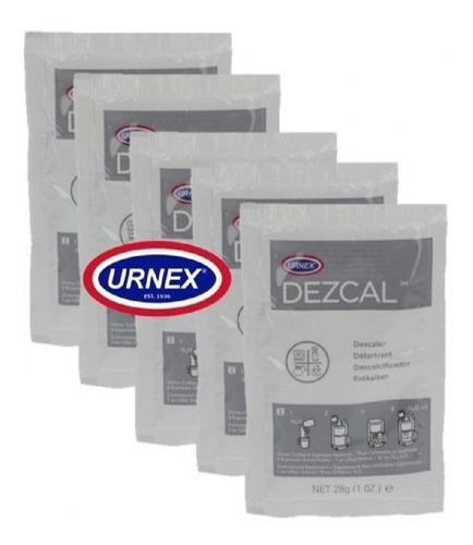 Dezcal Urnex Descalcificante 5 Sobres