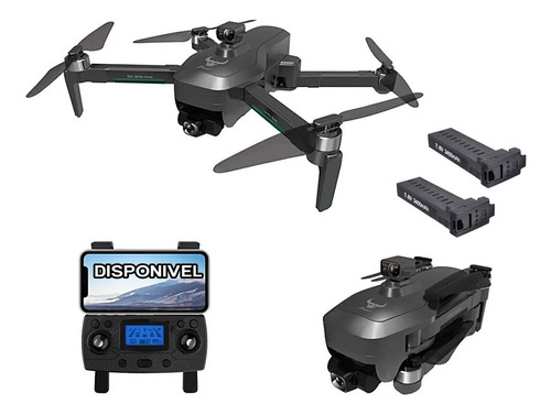 Drone Zlrc Beast Sg906 Pro 3 Max 3 Eixos Anti  Colisão