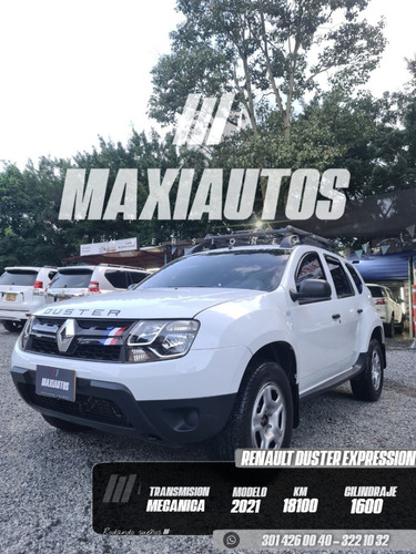 Renault Duster Expression 1.6 Cc Mt 18.100km Blanca