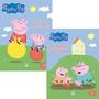 Kit Com 2 Livros De Atividades Peppa Pig